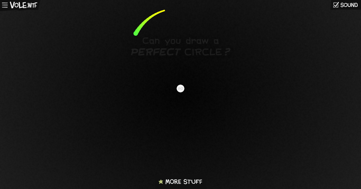 Can You Draw a Perfect Circle